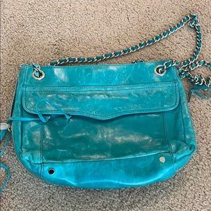Rebecca Minkoff teal green purse